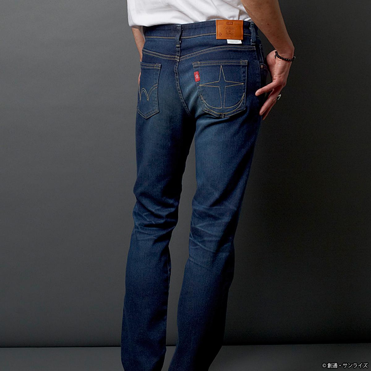 EDWIN JERSEYS 牛仔褲 連邦軍 水洗規格