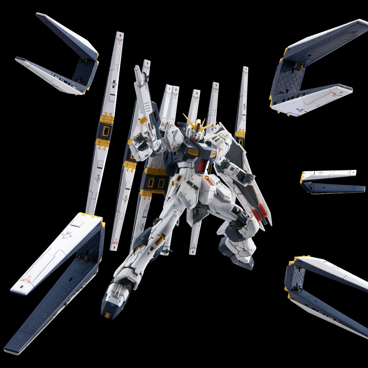 RG 1/144 EXPANSION PARTS for ν GUNDAM DOUBLE FIN FUNNEL CUSTOM UNIT [2021年3月發送]