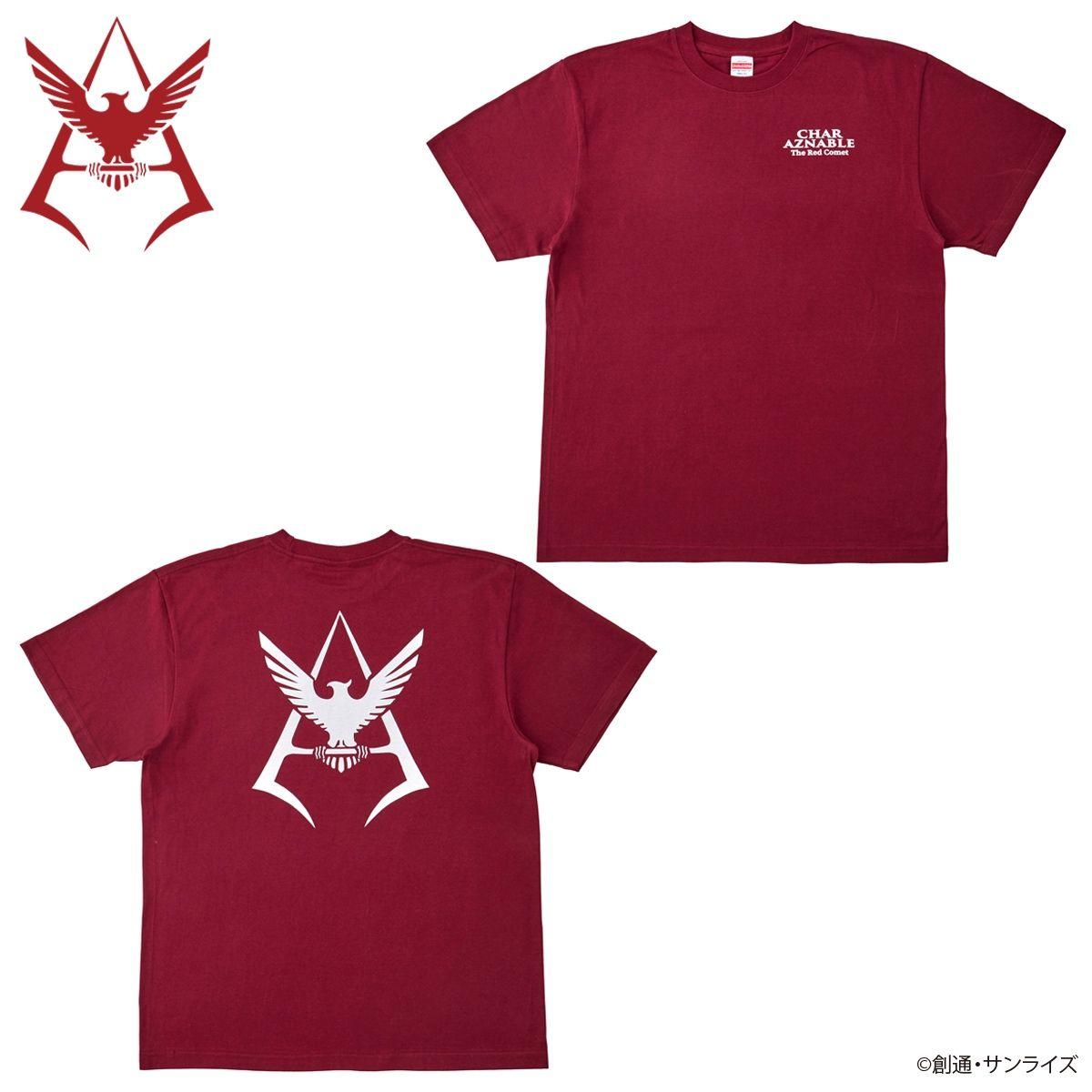 機動戰士鋼彈 臥室用品系列 夏亞款式 T-shirt