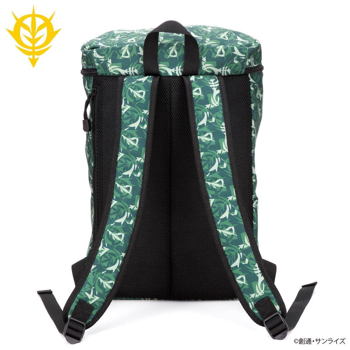 機動戰士鋼彈 迷彩圖案大開口後背包