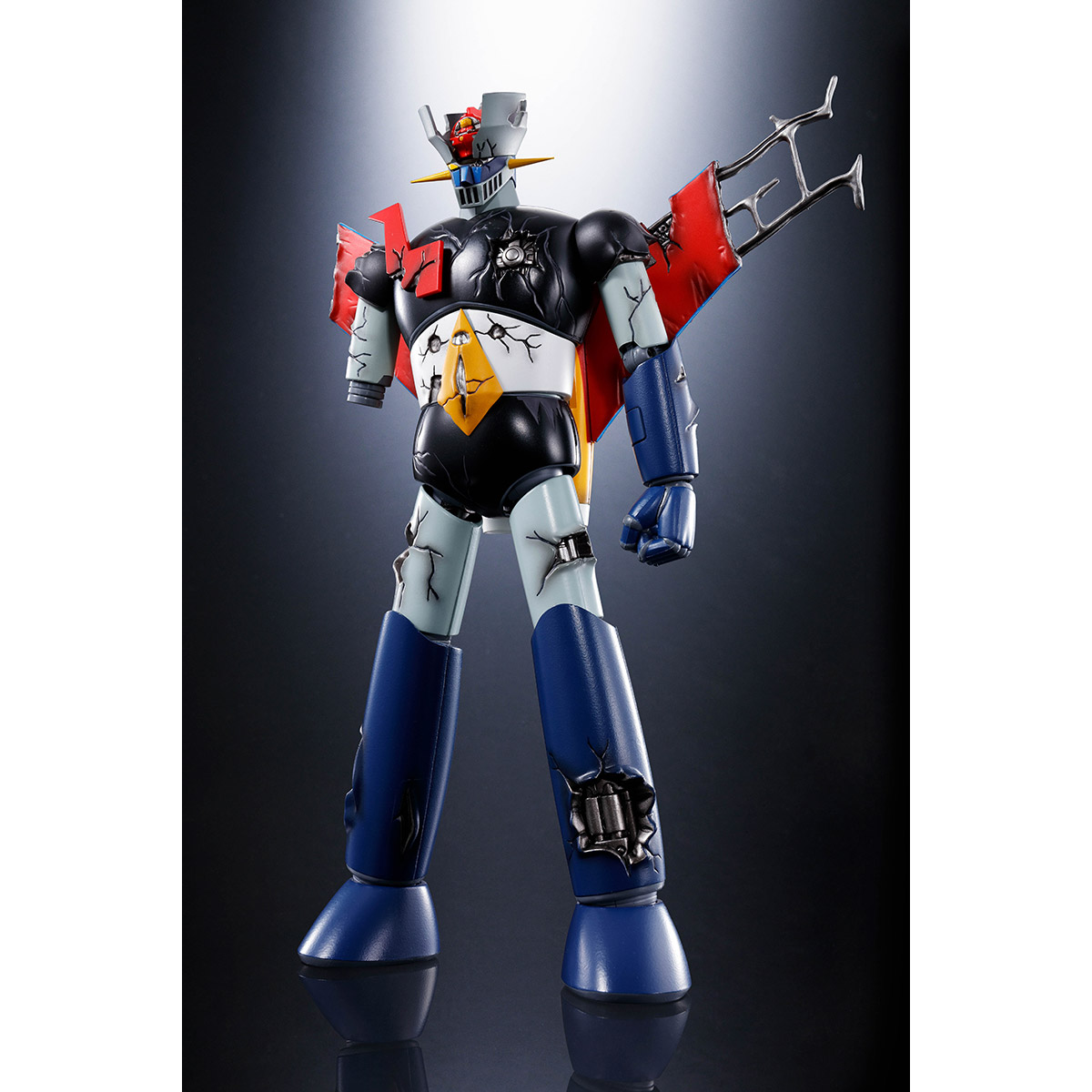 SOUL OF CHOGOKIN GX-70SPD MAZINGER Z D.C. DAMAGE Ver. ANIME COLOR