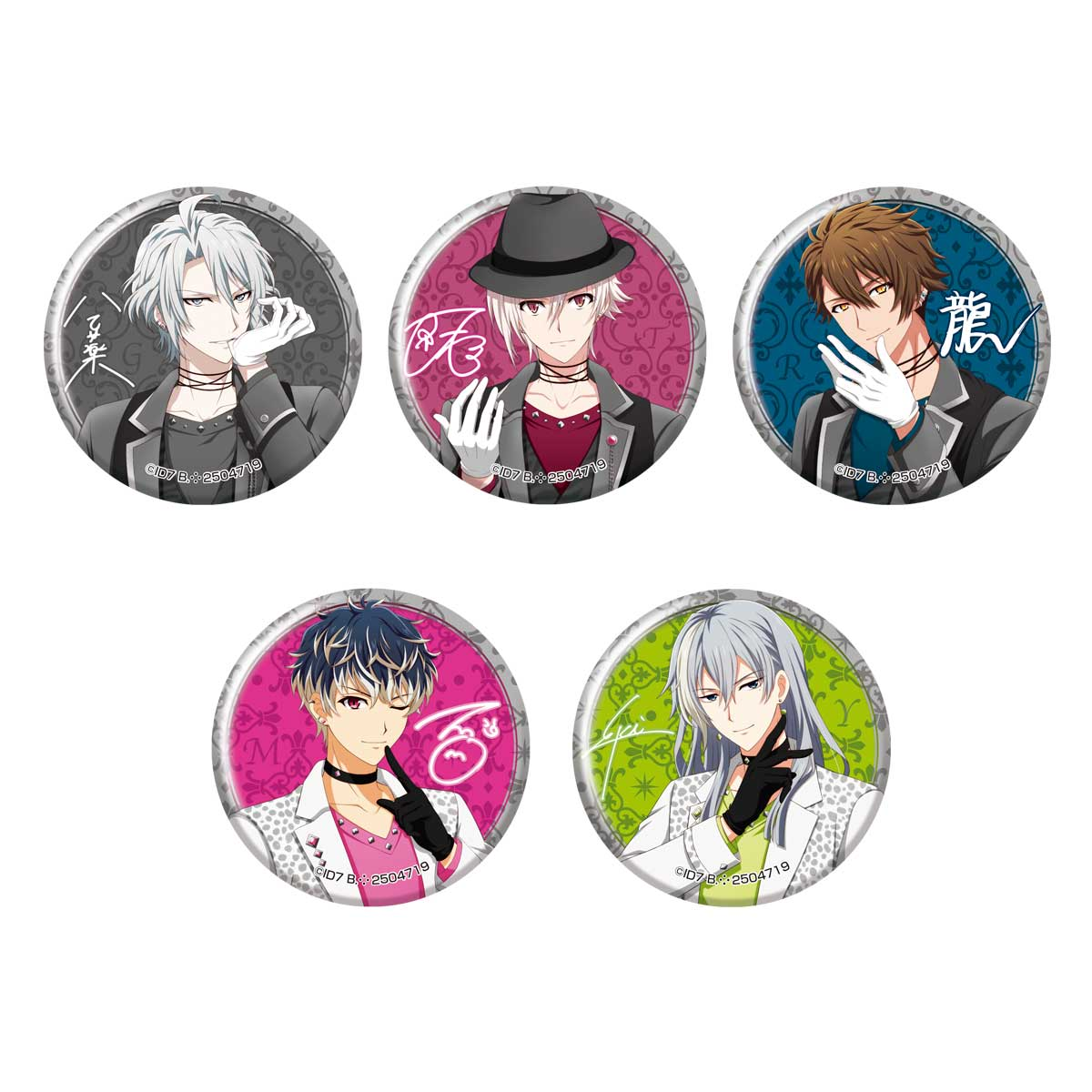 CAPSULE CAN BADGE COLLECTION~AGF2019 TRIGGER & Re:vale ver.~