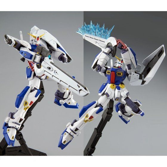 MG 1/100 MISSION PACK D-TYPE & G-TYPE for GUNDAM F90 [2021年4月發送]