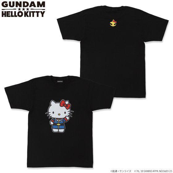 鋼彈 VS Hello Kitty 和解企劃 全彩T恤