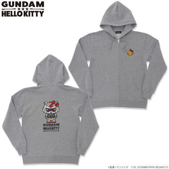 Gundam×Hello kitty Parka