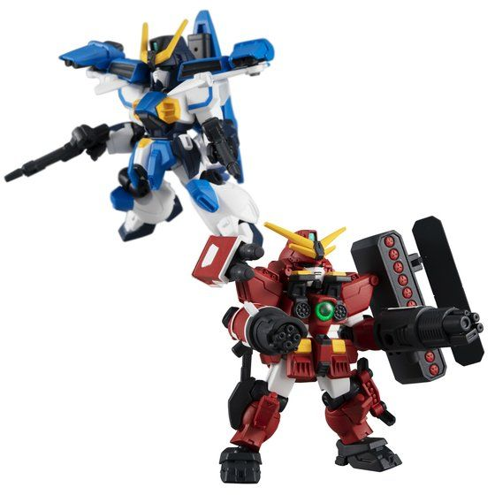 MOBILE SUIT ENSEMBLE EX19 GUNDAM LEOPARD DESTROY & AIR MASTER BURST SET