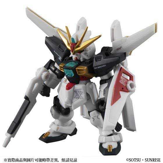 MOBILE SUIT ENSEMBLE EX18 GUNDAM DX & G FALCON MARKING PLUS SET