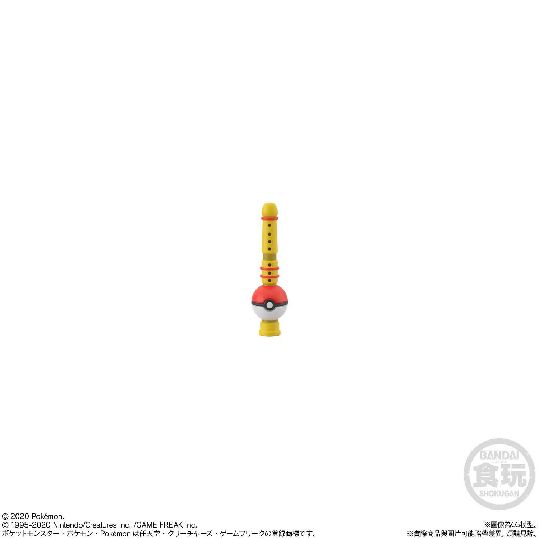 POKEMON SCALE WORLD KANTO RED & SNORLAX & POKEMON FLUTE [2021年5月發送]
