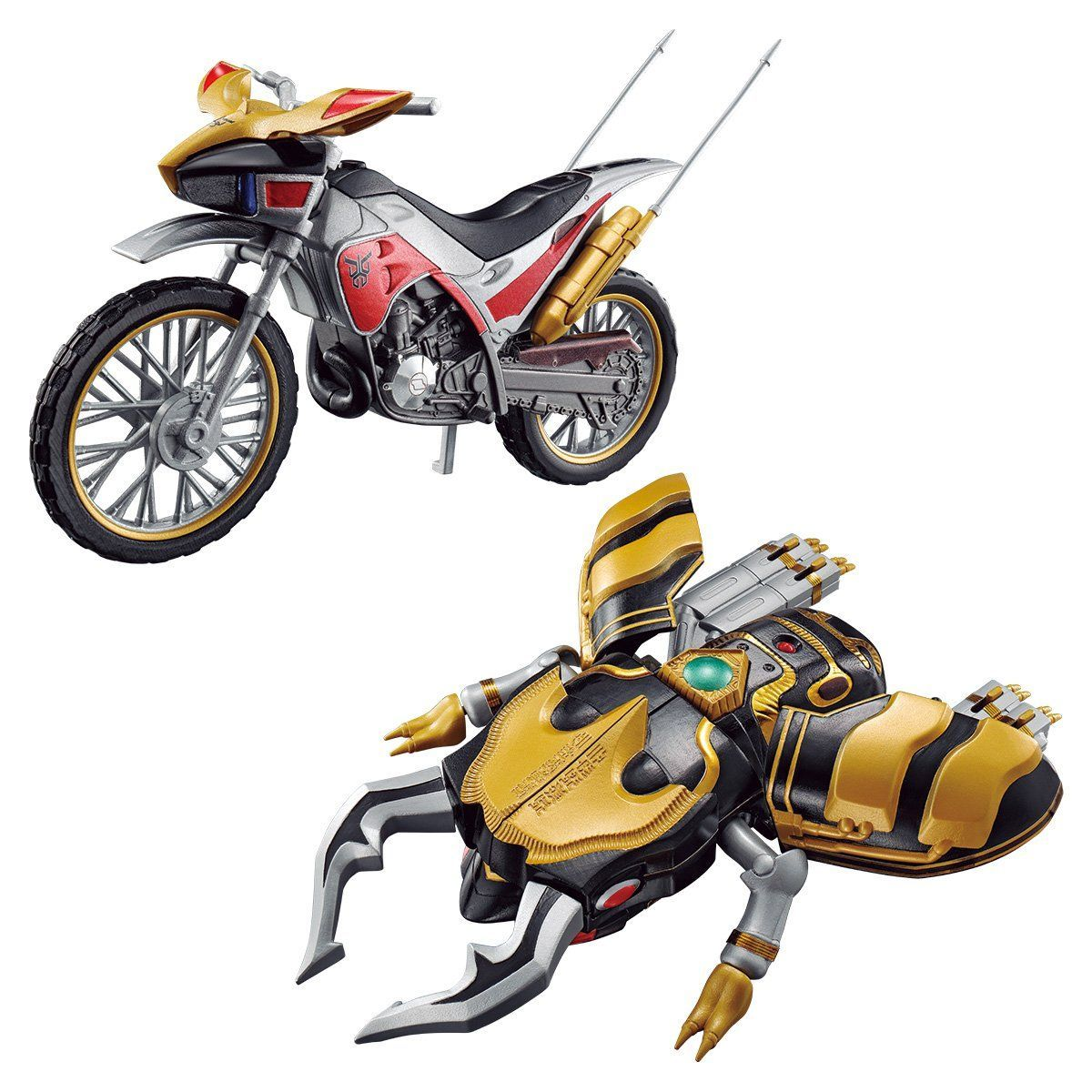 SO-DO CHRONICLE KAMEN RIDER KUUGA TRYCHASER 2000 & GOURAM SET W/O GUM
