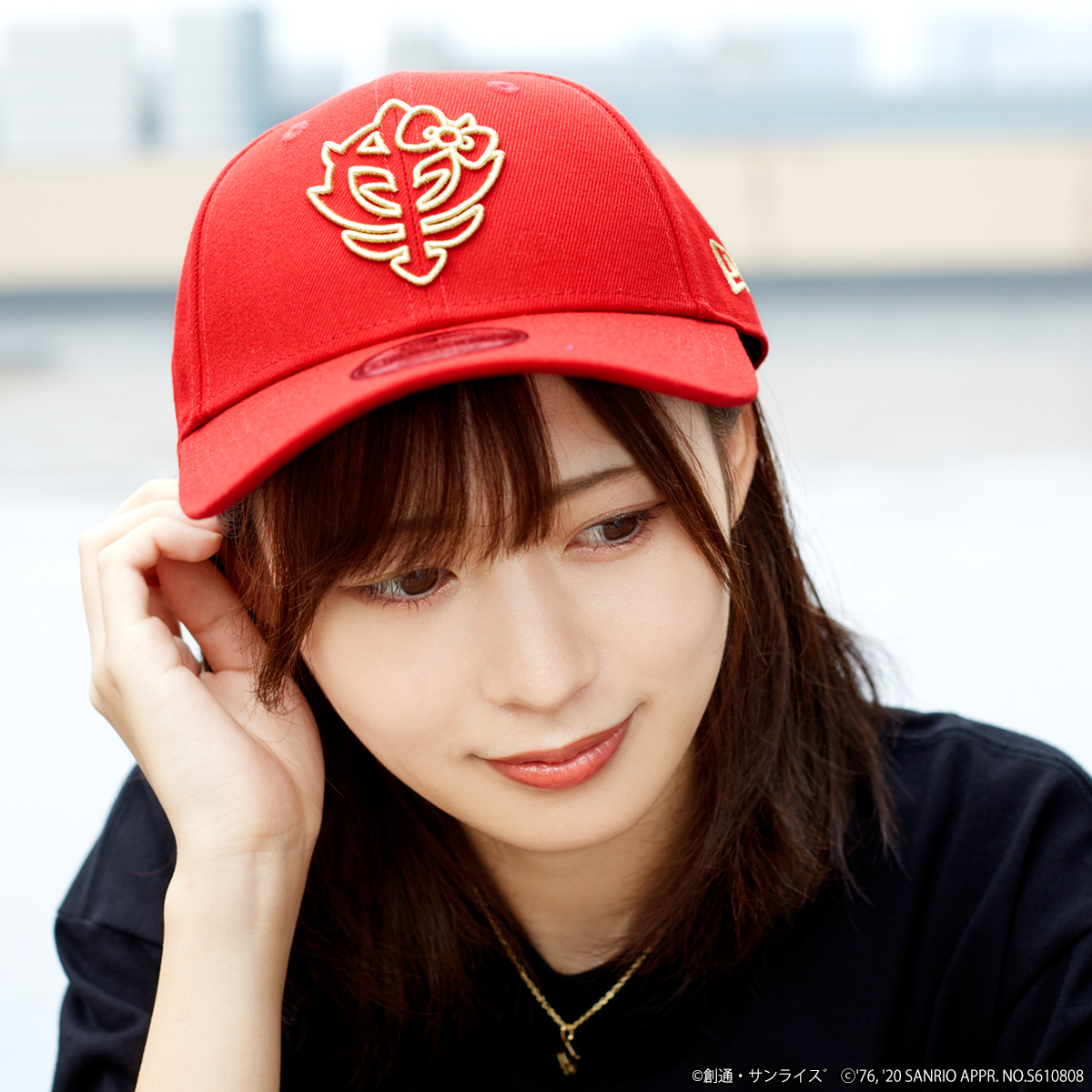 STRICT-G New Era 「鋼彈★Hello Kitty」 9FORTY棒球帽 吉翁軍
