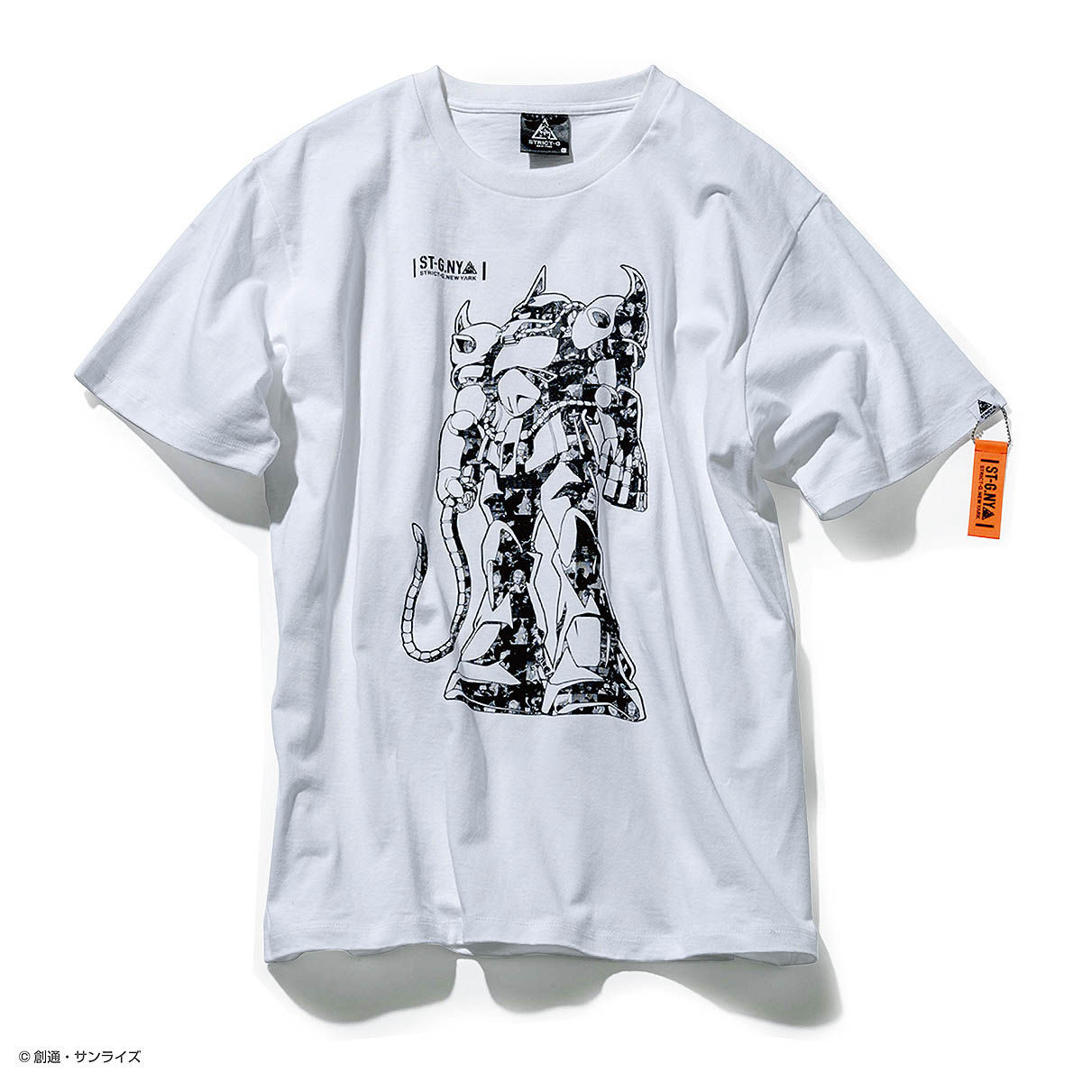STRICT-G NEW YARK GOUF COLLAGE T-SHIRT