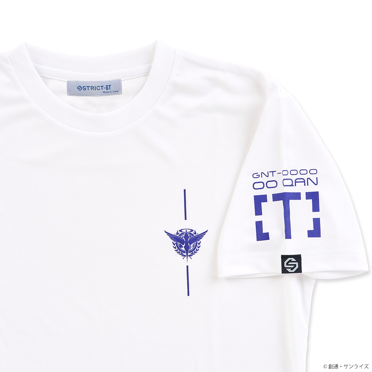 STRICT-G 「MOBILE SUIT GUNDAM 00 THE MOVIE -A WAKENING OF THE TRAILBLAZER-」 00 QAN[T] QUICK-DRYING T-SHIRT