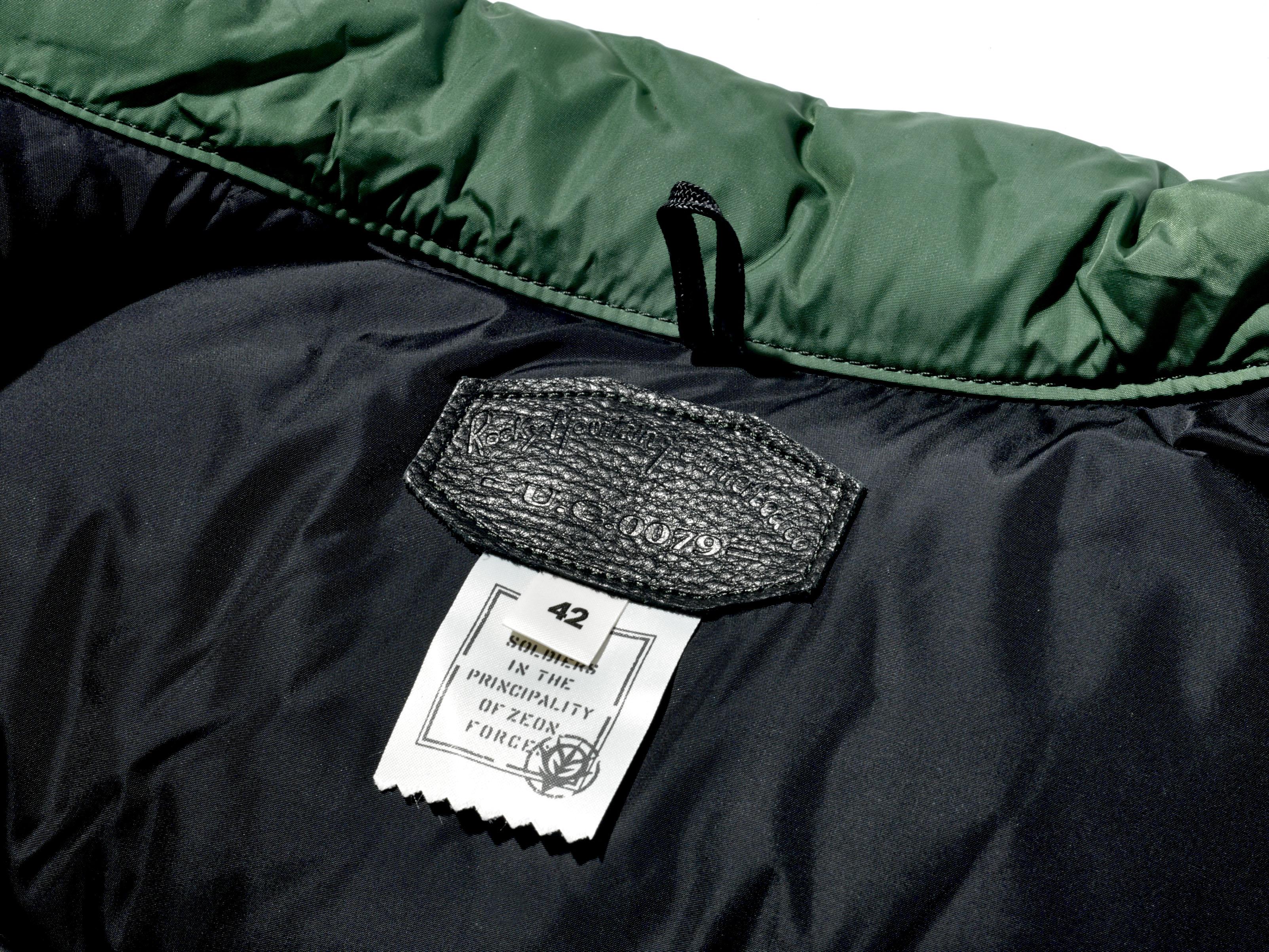 ROCKY  MOUNTAIN FEATHERBED「機動戰士鋼彈」 羽絨背心 薩克Ⅱ規格
