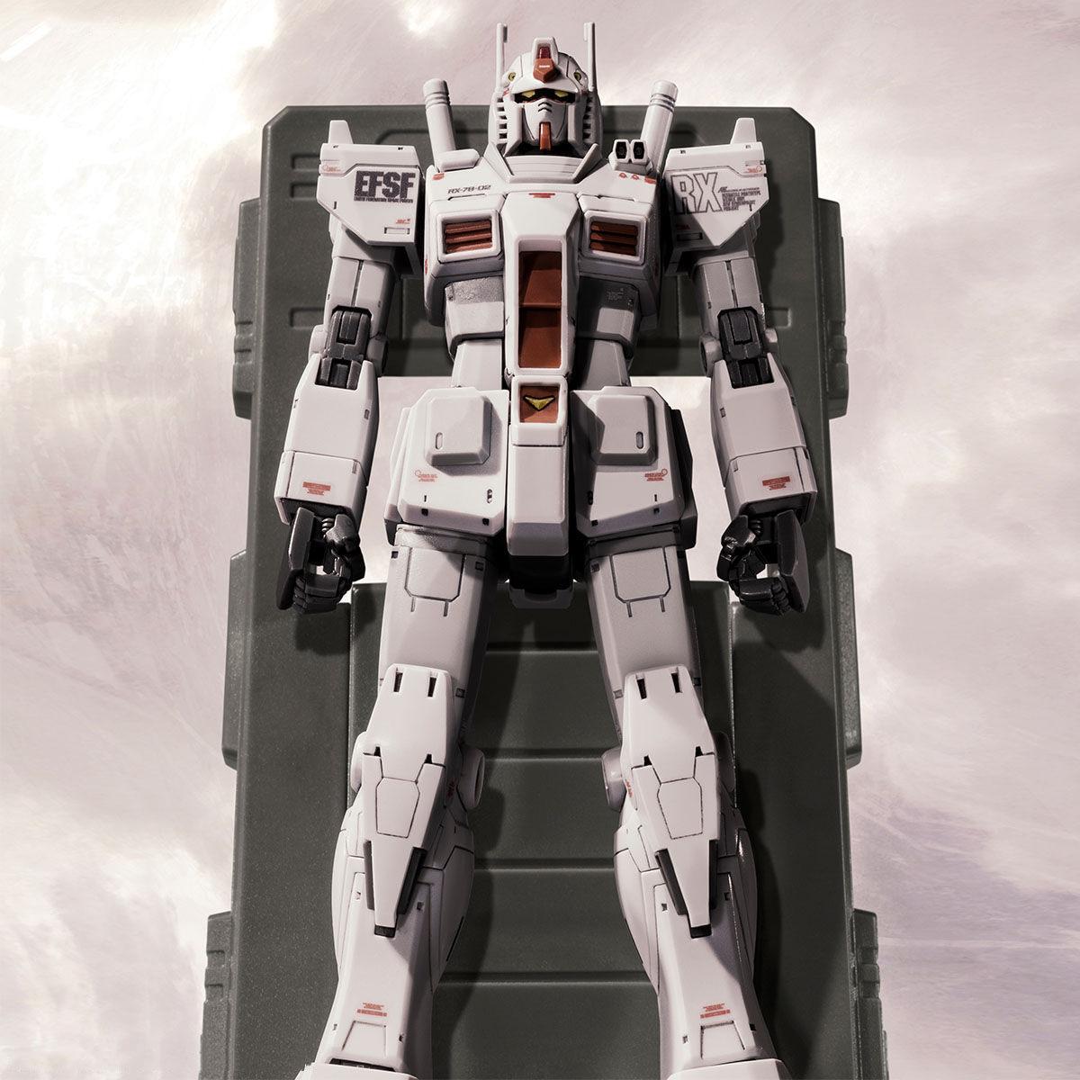 HG 1/144 RX-78-02 GUNDAM ROLLOUT COLOR (GUNDAM THE ORIGIN Ver.) [2021年7月發送]
