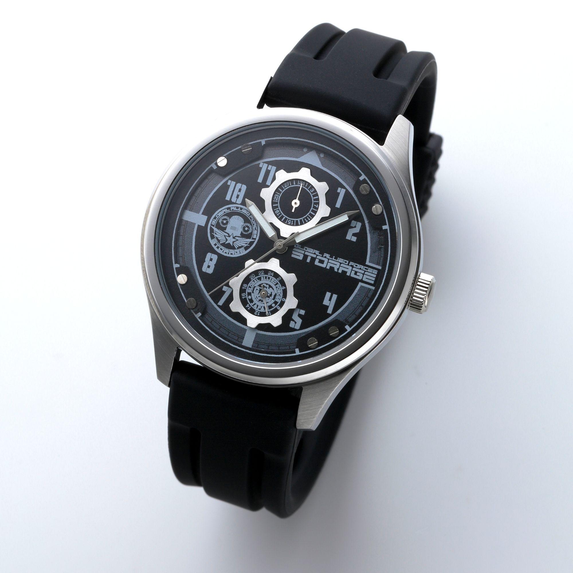 超人力霸王Z「STORAGE」款式腕錶