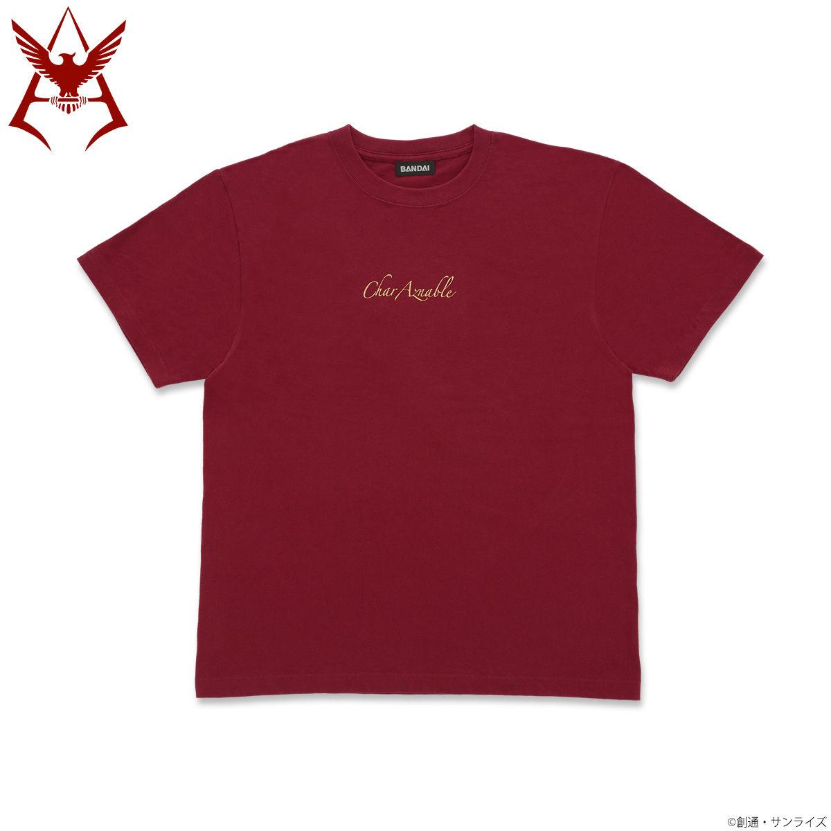 機動戰士鋼彈 夏亞黃金標誌 T-Shirt