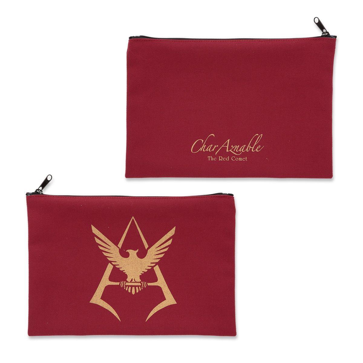 機動戰士鋼彈 夏亞黃金標誌 化妝包