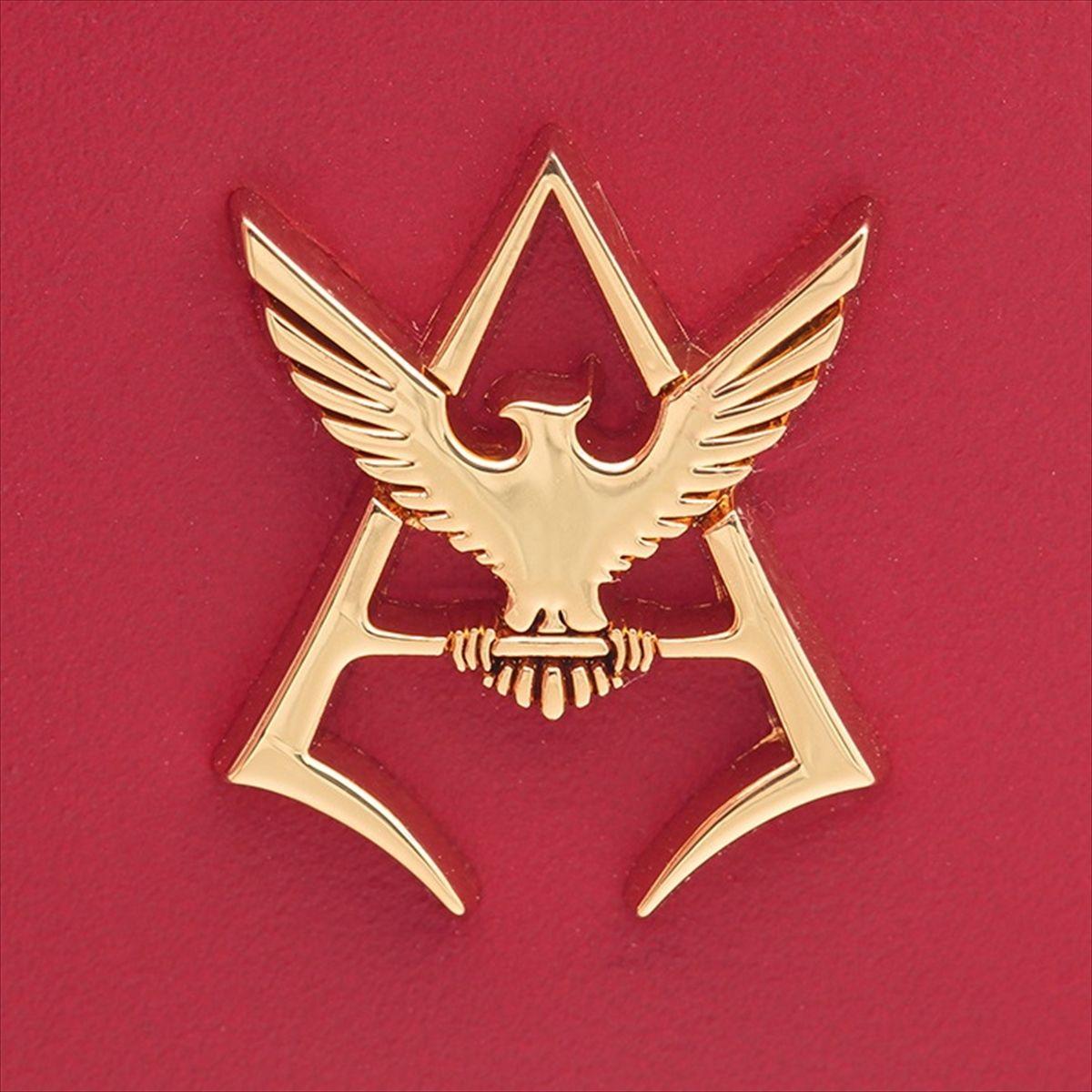 機動戰士鋼彈 夏亞黃金標誌 兩折短夾