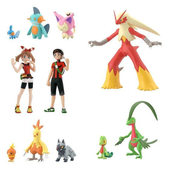 POKEMON SCALE WORLD HOENN SET W/O GUM