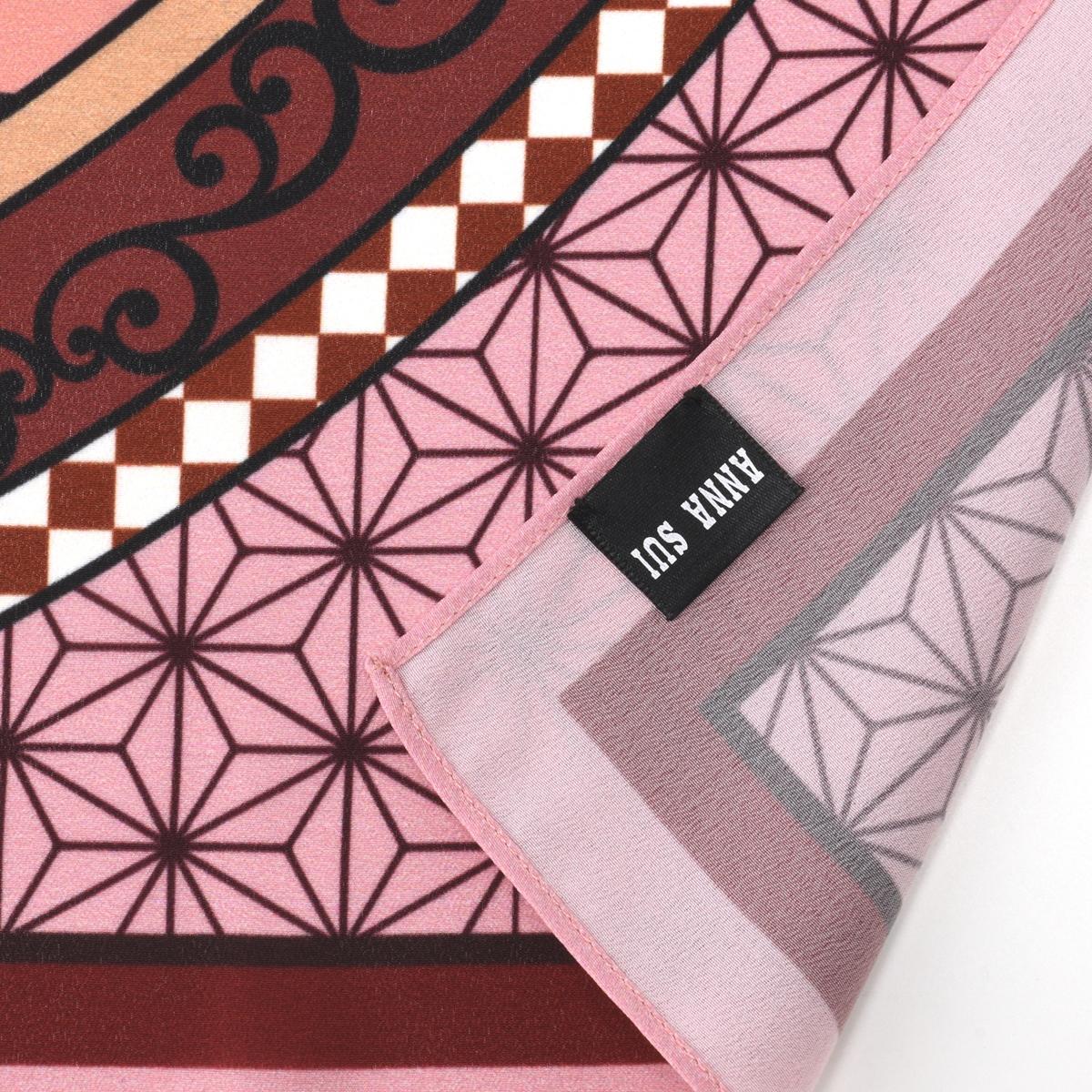 鬼滅之刃 X Anna Sui聯名 圍巾