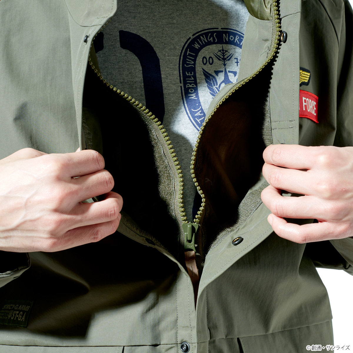 ST-G.A 「機動戦士鋼彈」 ECWCS防風夾克 吉翁軍規格