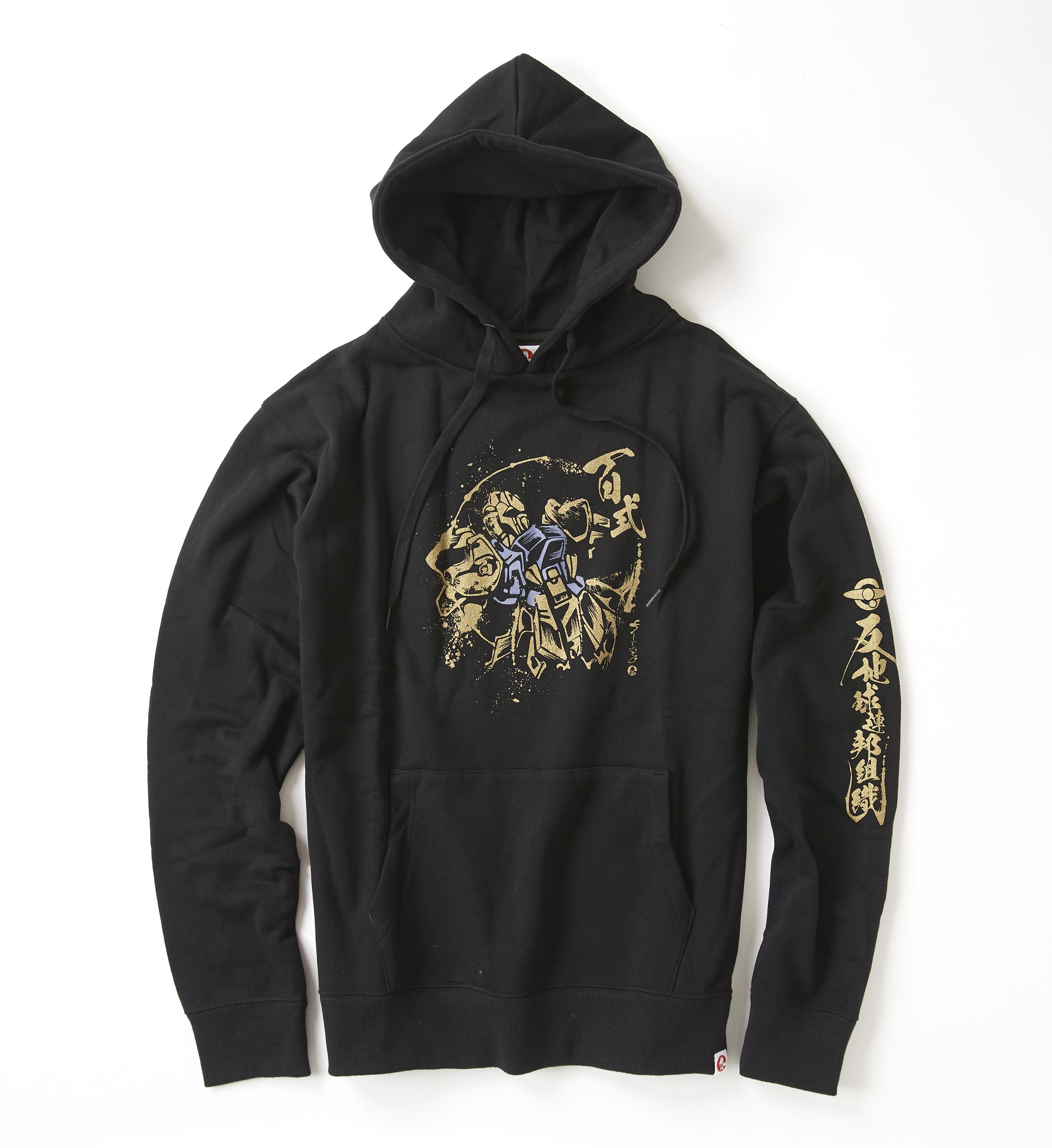 STRICT-G JP  「機動戰士Z鋼彈」 百式 水墨風帽T