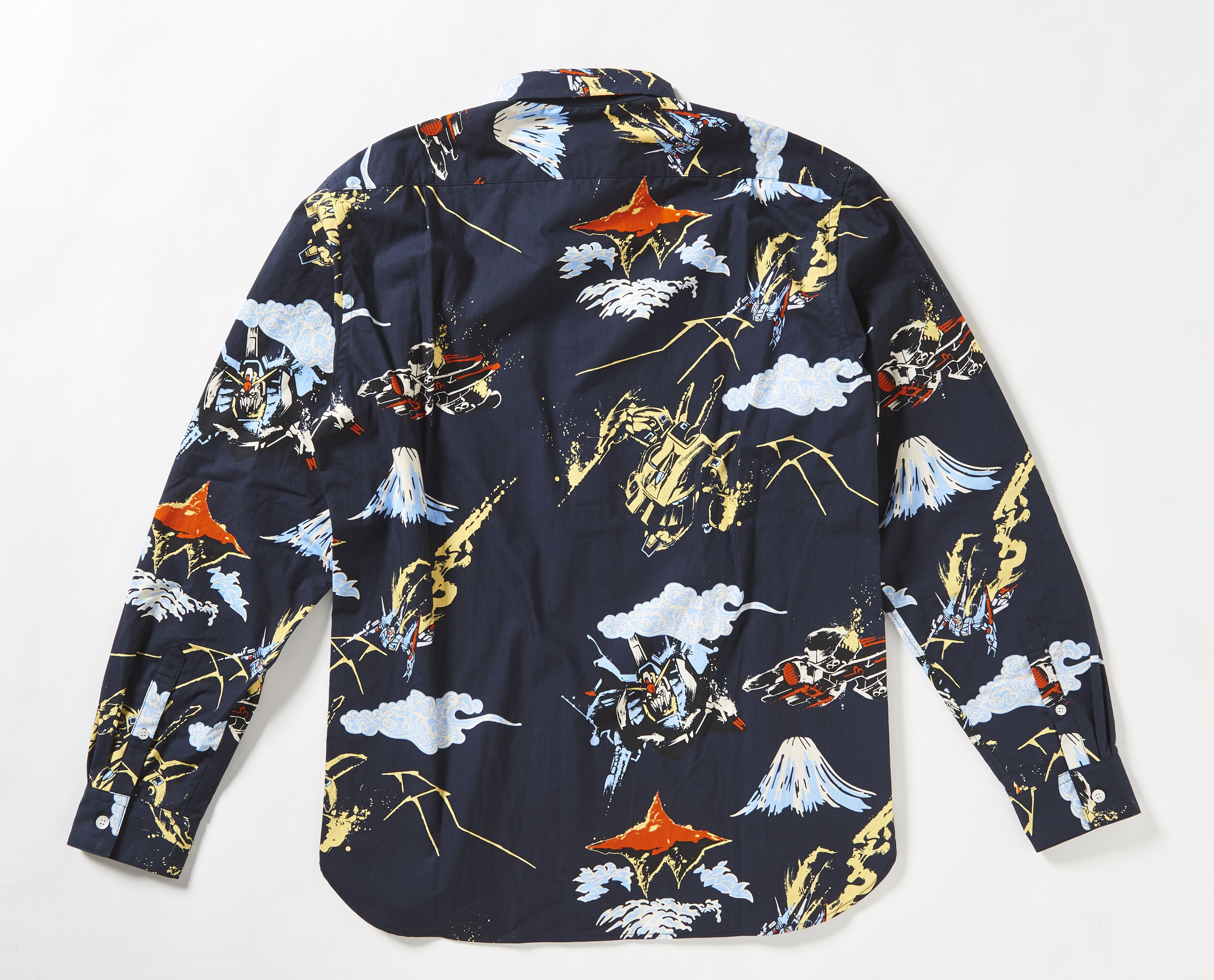 STRICT-G JAPAN 「Z GUNDAM」 Collor shirts THE.O