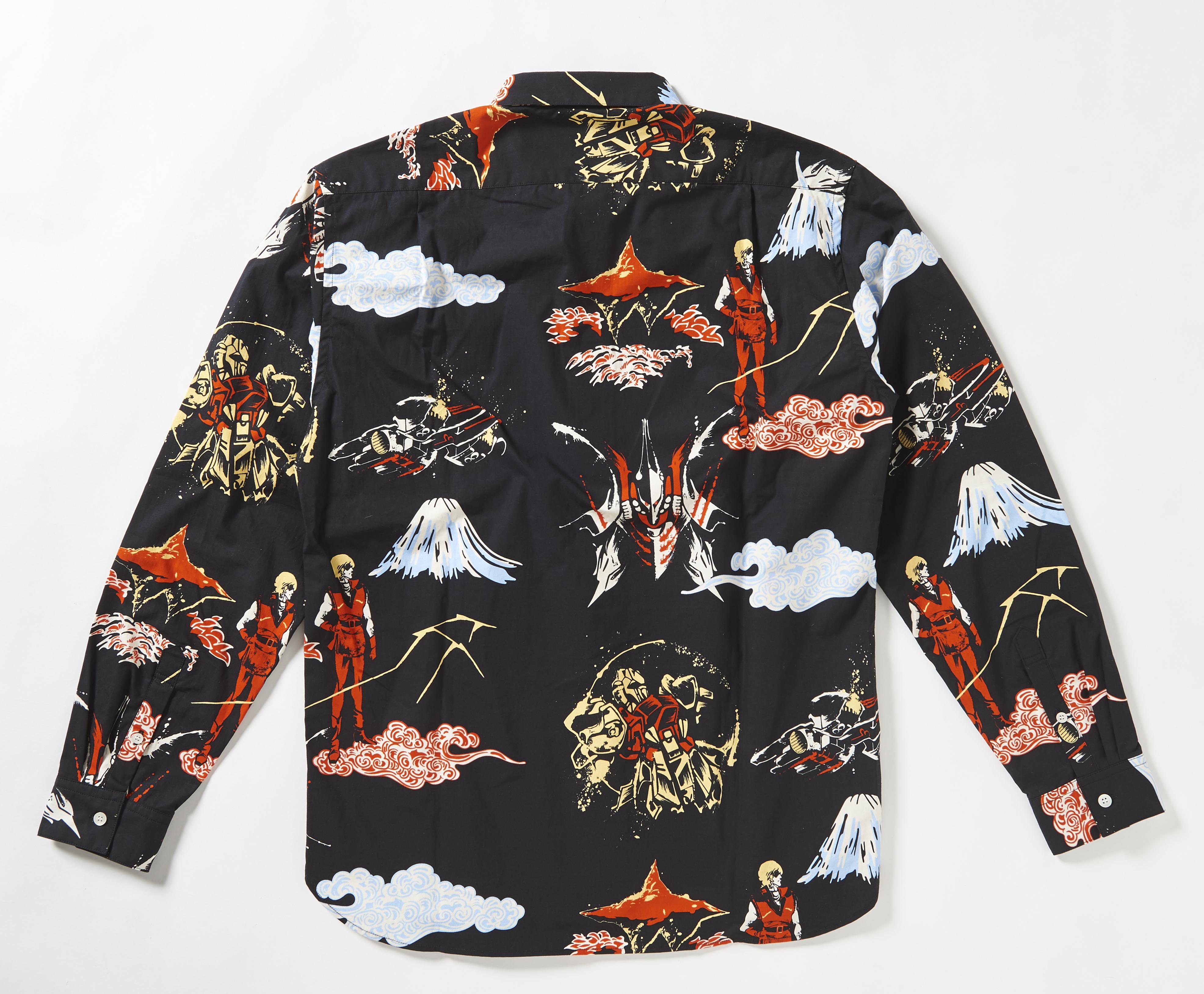 STRICT-G JP 「機動戰士Z鋼彈」  百式與秋貝雷 和風花襯衫