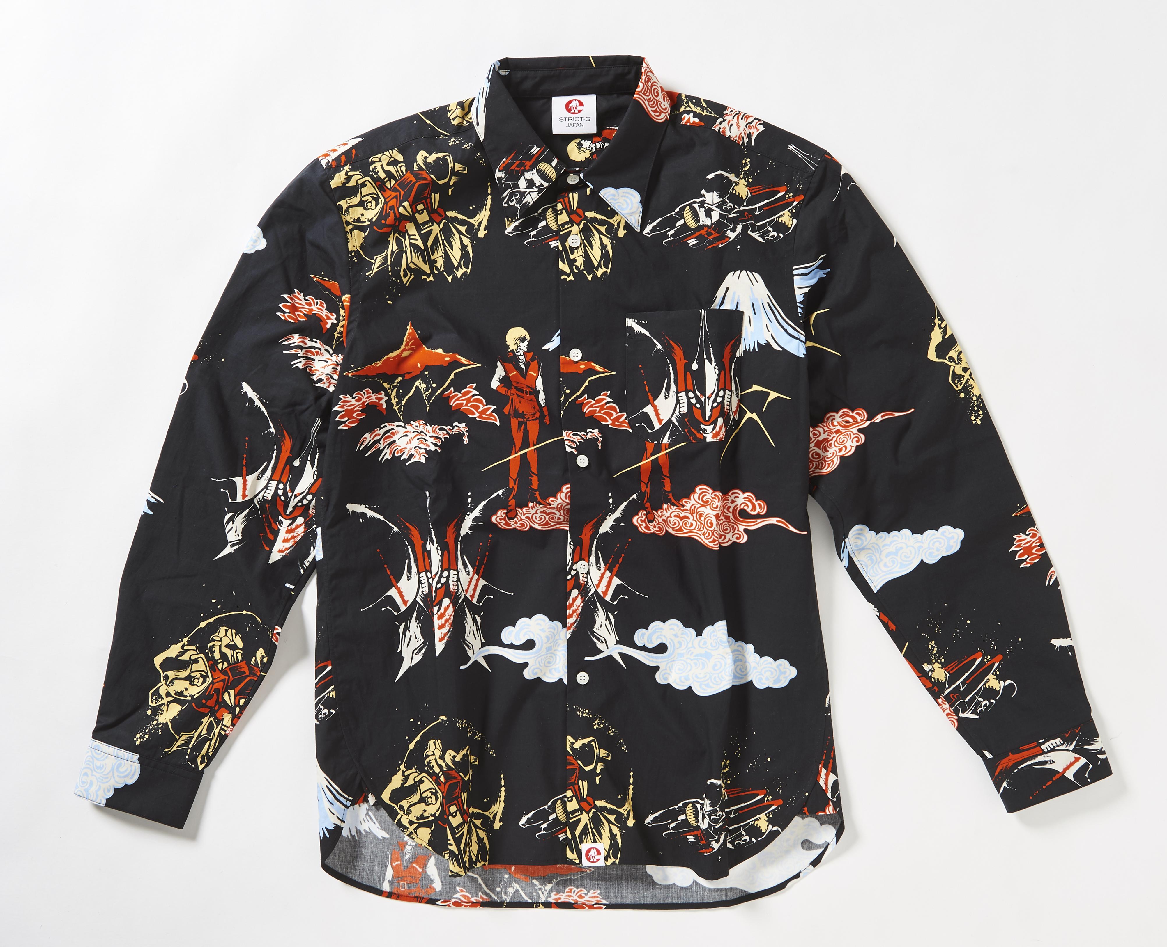 STRICT-G JAPAN 「Z GUNDAM」 Collor shirts Hyaku-Shiki & Qubeley