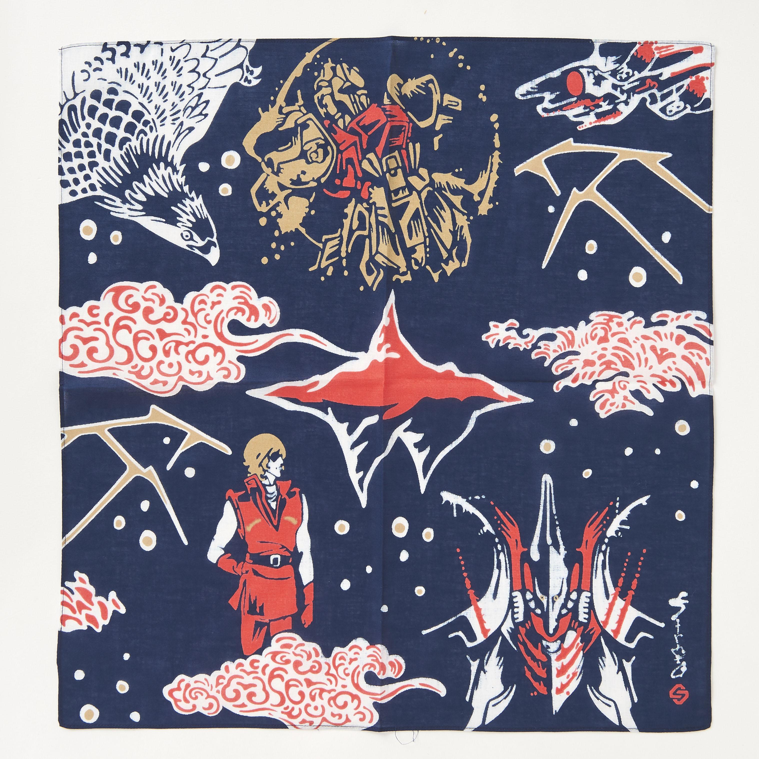 STRICT-G JAPAN 「Z GUNDAM」 handkerchief Quattro Vageena