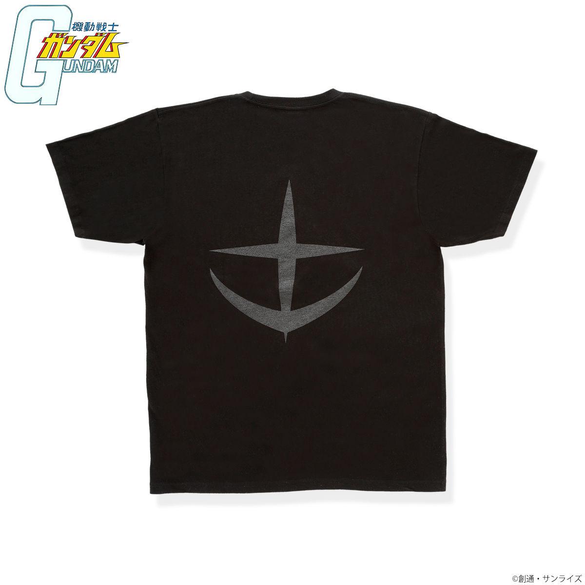 機動戰士鋼彈 BLACK LOGO T-SHIRT