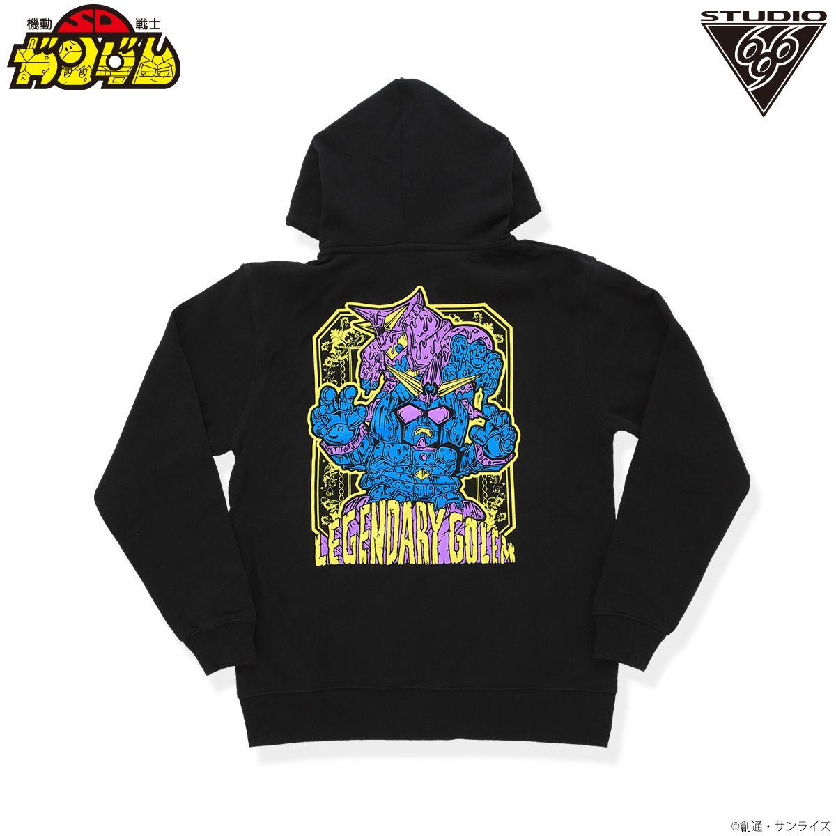 SD鋼彈 巨人重鋼彈魔像與泥塑巨人 帽T feat.STUDIO696