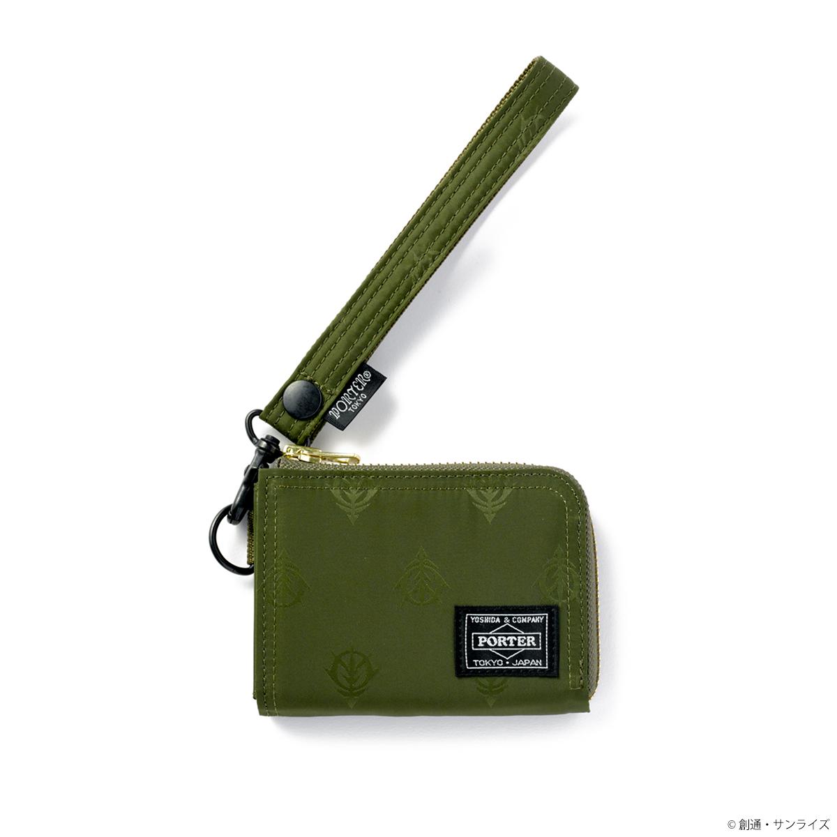 PORTER TOKYO JAPAN 複合式皮包 吉翁軍規格
