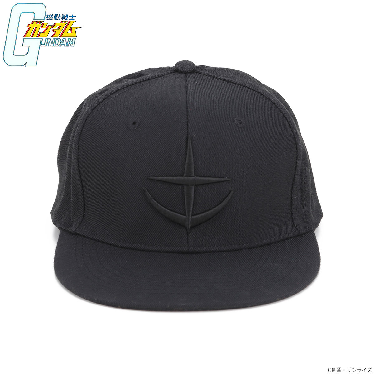 機動戰士鋼彈 BLACK LOGO CAP帽