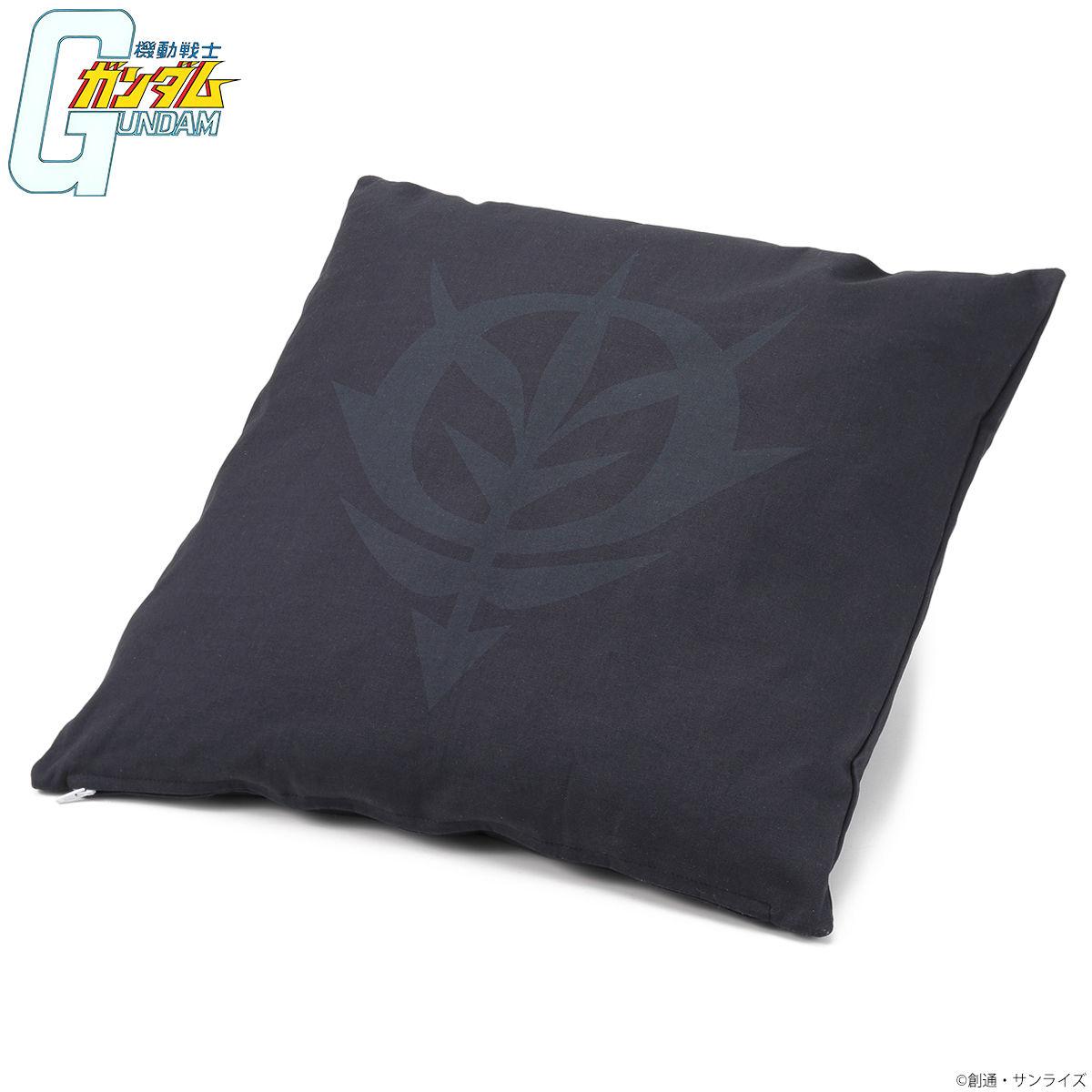 機動戰士鋼彈 BLACK LOGO 靠枕套