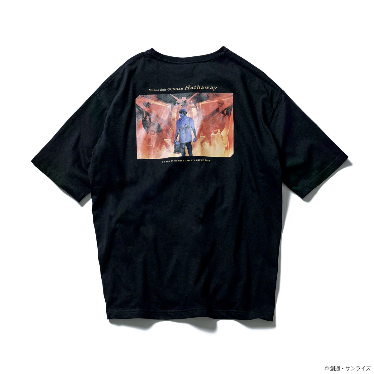 Hathaway T-shirt—Mobile Suit Gundam Hathaway/STRICT-G Collaboration [Feb 2022 Delivery]
