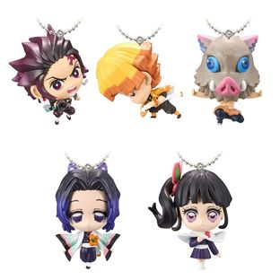 DEMON SLAYER: KIMETSU NO YAIBA MASCOT 2 SET W/O GUM