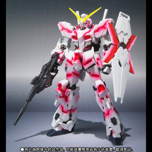 【台灣開幕宣傳會】ROBOT魂 〈SIDE MS〉 UNICORN GUNDAM (Psycho Frame Light Emitting Spec) GLOWING STAGE Set