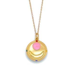 Sailor moon Transform brooch design Silver925 pendant K18 coarting [Nov 2014 Delivery]