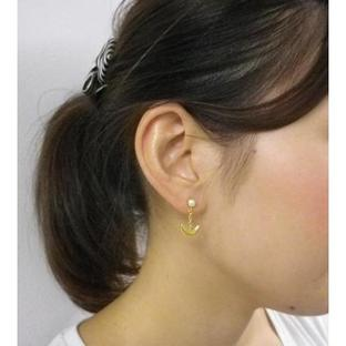 Sailor moon Silver925 pierce Gold coarting [Aug 2014 Delivery]