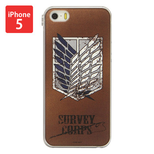 Jacket for iPhone 5&5s Attack on Titan Survey Corps