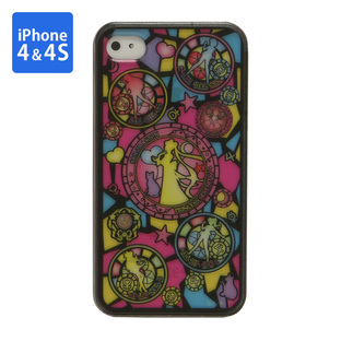 Cover for iPhone4 SAILOR MOON Stained Glass