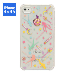Cover for iPhone4 SAILOR MOON Silhouette
