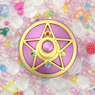 Sailor moon Crystal Star Broach Mirror case [Aug 2014 Delivery]