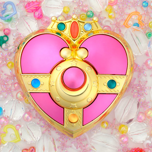 Sailor moon Cosmic Heart Compact Mirror case [Aug 2014 Delivery]