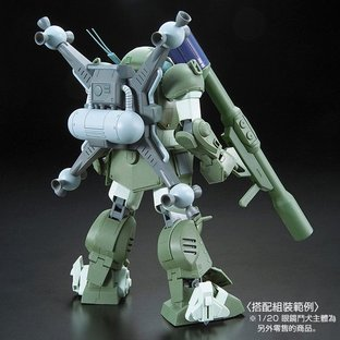 Armored Trooper VOTOMS 1/20 SOLID SHOOTER & ROUND MOVER [2017年9月發送]