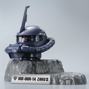 [新年感謝祭 會員限定販售] ZAKU II HEAD (BLACK TRI-STARS CUSTOM Ver.)