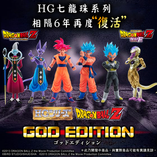 HG DBZ GOD EDITION