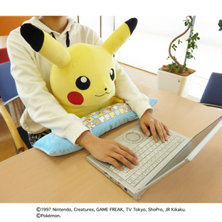 PC CUSHION PIKACHU [2017年4月發送]