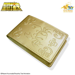 GOLD CLOTH BOX BUSINESS CARD HOLDER CANCER